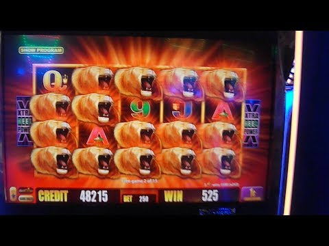 Sunset King FIRST LOOK -- MAX BET & MASSIVE BIG HUGE WIN!!! -- BRAND NEW ARISTOCRAT SLOT MACHINE