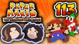 Paper Mario TTYD: The Earth is Flat - PART 113 - Game Grumps