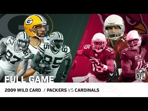 2009 Nfc Wild Card Packers Vs Cardinals Most Points Scored