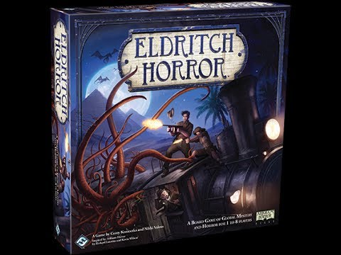 Eldritch Horror Review (Oh my gosh, it's better than Arkham!)