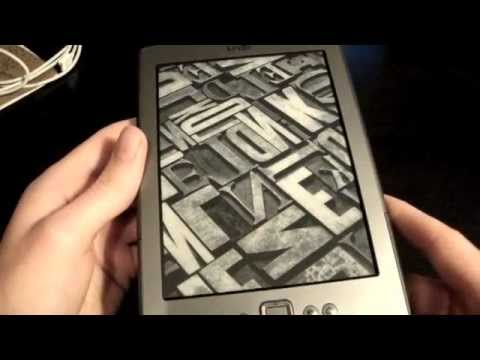 Amazon New Kindle Review 2011 4th generation