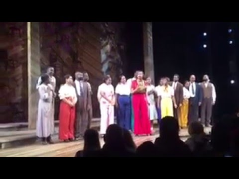 Jennifer Hudson & Broadway's The Color Purple Cast Pay Tribute to Prince