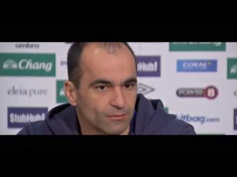Roberto Martinez: Ross Barkley impact at international level | pre Everton vs Southampton.