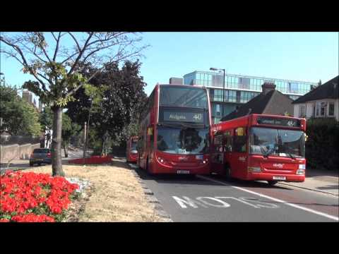 Abellio London bus making a racket