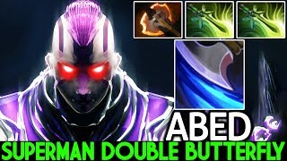 ABED [Anti Mage] Superman Double Butterfly Hard Counter Storm 7.22 Dota 2