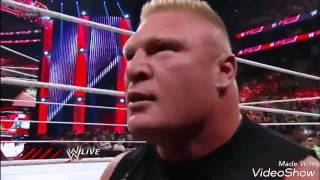 Brock lesnar best attack