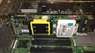 Adaptec 5805 startup led's