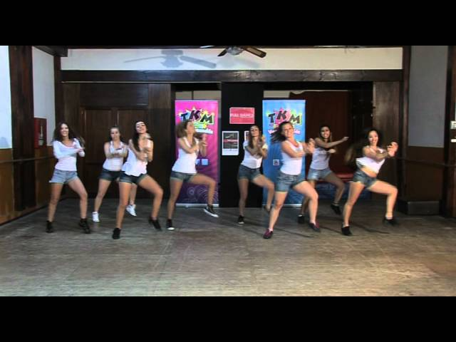 Coreografía de Gangnam Style de PSY / TKM Live