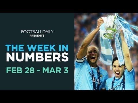 Man City, Pardew, Suarez and Soldado! | Week In Numbers