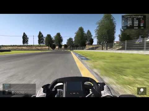 pCARS  | World Record | Chesterfield | Kart