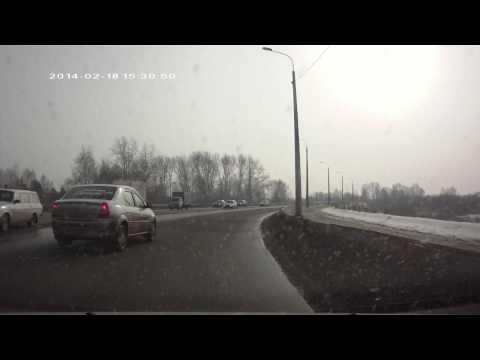 ДТП 18 02 2014 на Шершнях
