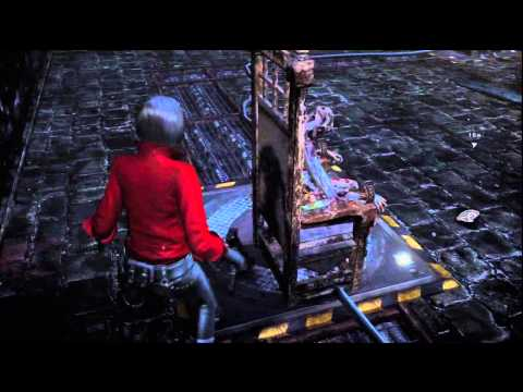Resident Evil 6 - Ada Wong hangmans puzzle