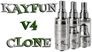 Kayfun V4 Clone Review By Cloudcig