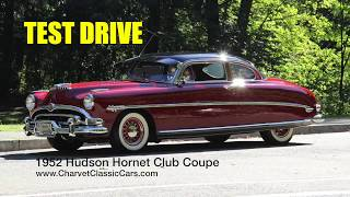 TEST DRIVE: 1952 Hudson Hornet Coupe. Charvet Classic Cars