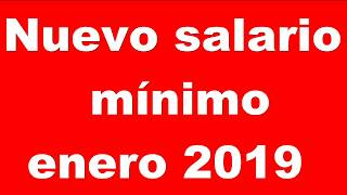 Este será el nuevo salario mínimo Venezuela, enero 2019