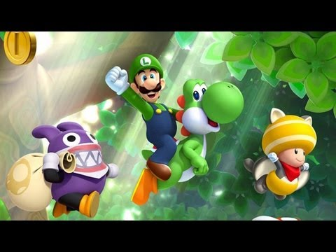 CGR Undertow - NEW SUPER LUIGI U review for Nintendo Wii U