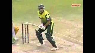 Pakistan v Australia 2007 T20 World Cup Super 8s - Misbah's 102m sixer