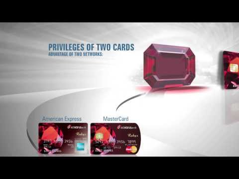 Icici Bank Rubyx Credit Cards video