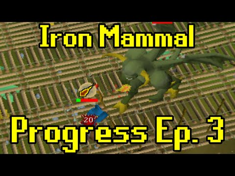 Oldschool Runescape - 2007 Iron Man Progress Ep. 3 | Iron Mammal