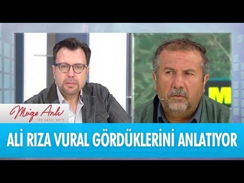 Ali Rıza Vural gördüklerini anlatıyor! - Müge Anlı İle Tatlı Sert 1 Aralık 2017