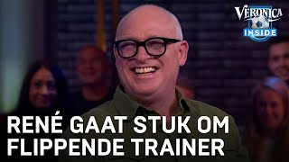 René gaat stuk om flippende amateurtrainer | VERONICA INSIDE