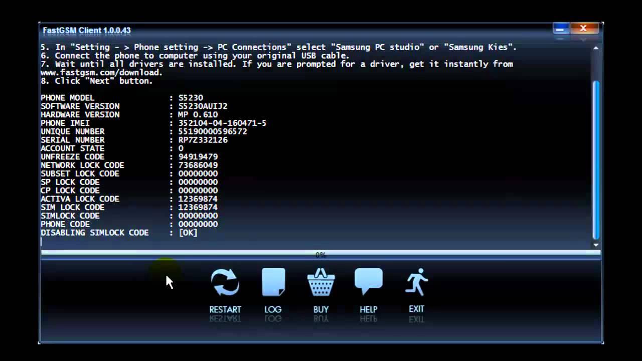 скачать драйвер для samsung gt-s5230 для windows 7