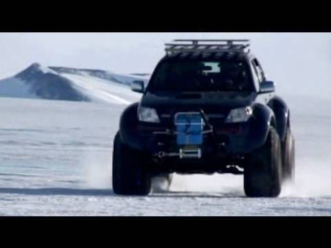 Arctic Trucks' Toyota Hilux pickup truck from BBC Top Gear TV show