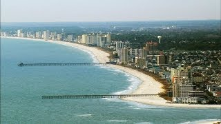 The Sandy Shores of Myrtle Beach