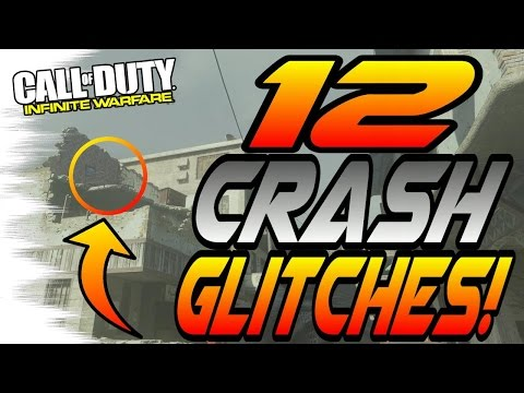 *MWR* ALL 12 CRASH GLITCH SPOTS! - Trickshot Glitches (Modern Warfare Remastered Glitches)