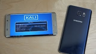 Android Phone Remote Hacking Linux Test!