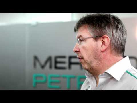 F1 2011 - Mercedes GP - Rosberg & Brawn explain overtaking in Formula 1