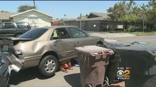 Bizarre Car Accident In Anaheim Leaves Grandma Fighting For Her Life, Toddler Hurt