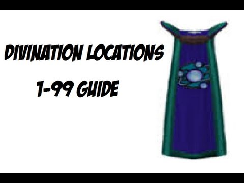 Divination Locations | 1-99 DIVINATION GUIDE! RuneScape 3 Guide!
