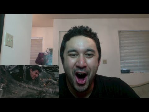 EDGE OF TOMORROW TRAILER REACTION!!!