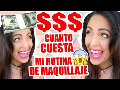 Cuanto Cuesta mi Rutina de Maquillaje?! $$$ OMG - Lunes de TAG Sandra Cires