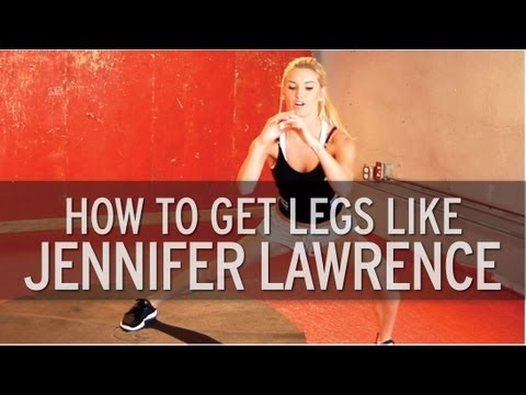 How to Get Legs like Jennifer Lawrence