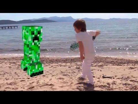 Minecarft битва. Vlog Адриана. Волк vs Чешуйница
