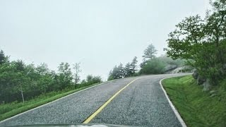 The Road to the top of Grandfather Mountain N.C.