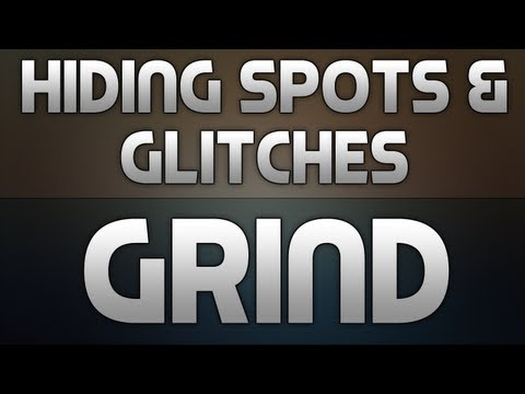 BO2: Hiding Spots + Glitches on Grind