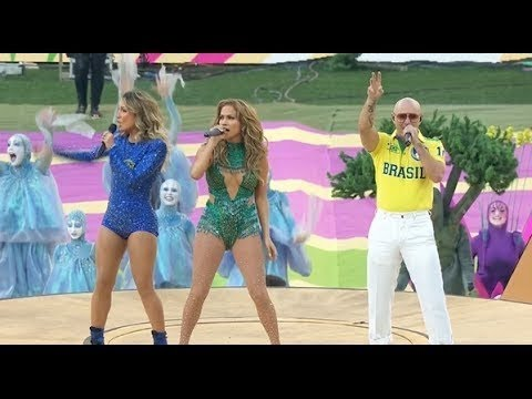 FIFA World Cup 2014 Opening Ceremony   Pitbull & Jennifer Lopez   BRAZIL Full Video