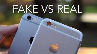 How to spot a fake iphone 6?