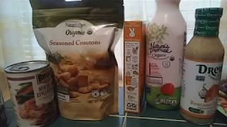 Organic Food Finds At Hannaford Supermarket.