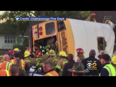 Deadly School Bus Crash In Tennessee