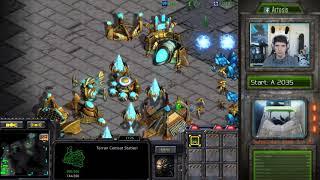 StarCraft Remastered 1v1 (FPVOD) Artosis (T) vs SoMi_LOVE (P) Benzene