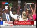 SWEARING-IN IN  KENYA: Raila Odinga sworn-in as 'Kenya People's President.'