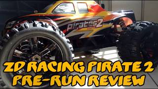 ZD Racing Pirates 2 ZMT-8 08427 Pre-Run Review