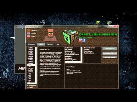 ★Minecraft 1.8.1 Modyfikacje★- Craften Terminal - Wszystkie wersje Minecrafta!