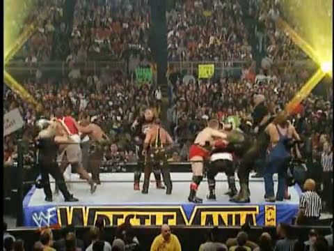 Gimmick Battle Royal | WrestleMania X-Seven