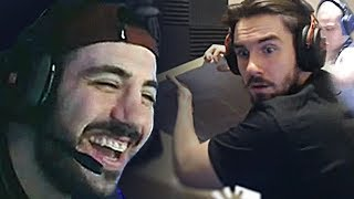 """Nickmercs Reacts to Our Montage """"We Enhanced the Beginning of 2019 with this Fortnite Edit"""""""