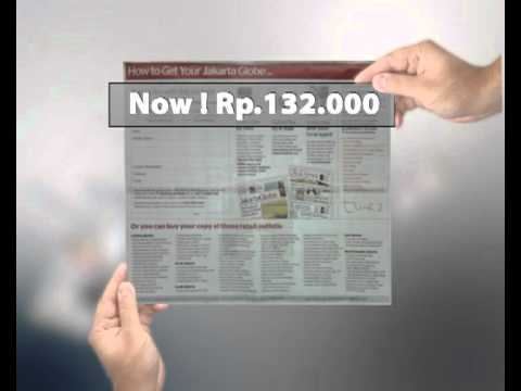 TVC Jakarta Globe Subscriber Discount